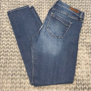 express super skinny midrise jeans